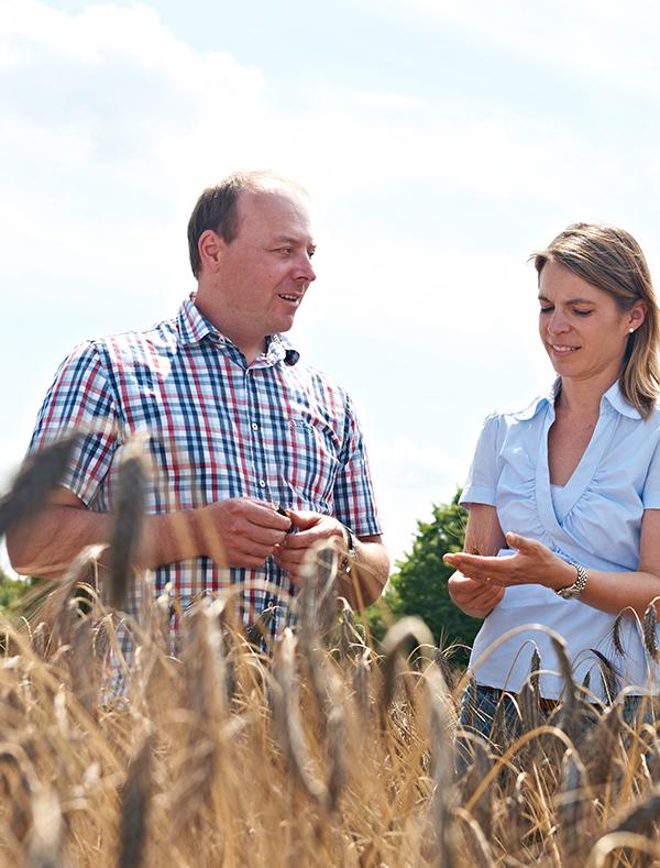 Landwirt mit Leidenschaft für Urgetreide