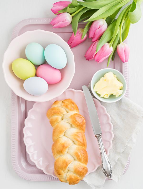 Gelingsicheres Hefeteig-Rezept zu Ostern