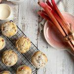 Rhabarber Muffins Emmermehl